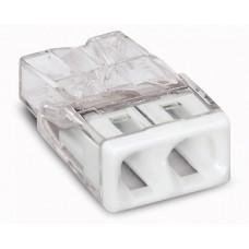 Миниатюрная клемма Wago 2273–202 без контактной пасты 60935 (цена за уп.)