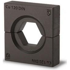 Набор матриц КВТ НМ-300-DIN для опрессовки медных наконечников по DIN 46235 61036