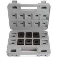 Набор матриц КВТ НМ-300-НШВИ для опрессовки втулочных наконечников 61037