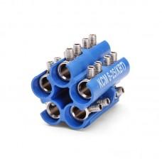 Блоки соединителей в полимерном корпусе КСМ-(6-25) 68040