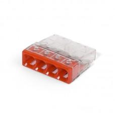 Миниатюрная клемма Wago 2273–242 с контактной пастой 60929 (цена за уп.)