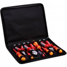 Набор изолированного инструмента электрика КВТ НИИ-01 9 шт в кофре 59380