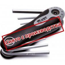 Набор торцевых ключей 6 шт Torx НТК-Т-06 КВТ 67666